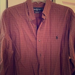 Button down collared shirt/ dress up or casual